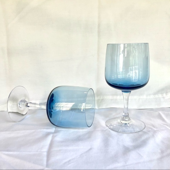 Mid century modern glass chalices